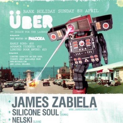Uber Bank Holiday Sunday - James Zabiela, Silicone Soul, Nelski  Tickets | The Melting Pot Carlisle  | Sun 8th April 2012 Lineup