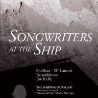 Songwriters at the Ship // SheBeat EP launch