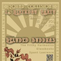 Sound Collision at Cabaret Voltaire - 1st Birthday Party at Cabaret Voltaire