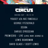 Yousef presents CIRCUS Boxing day
