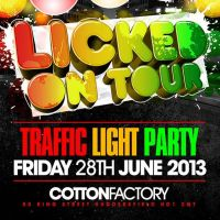 Licked on Tour at Cotton  Factory