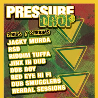 Pressure Drop Tickets | NQ Live (Formerly Moho Live) Manchester  | Fri 12th October 2012 Lineup