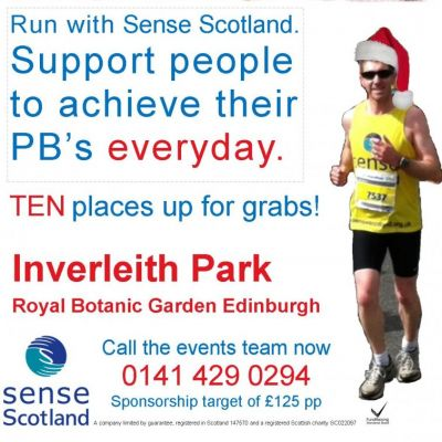 Christmas 5k | Inverleith Park Edinburgh  | Sun 8th December 2013 Lineup