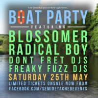 Boat Party #2 feat Blossomer & Radical Boy at Sheffield