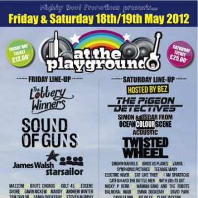 At the Playground 18th 19th May 2012 Tickets | The Playground Whitehaven   | Sat 19th May 2012 Lineup
