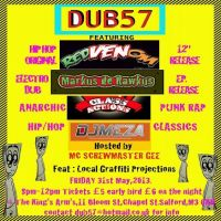 DUB57 SUMMER RELEASE PARTY AND LIVE VINYL/ELECTRONIC JAM at Kings Arms Salford