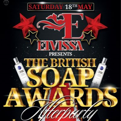 The Soap Star Awards After party 2013 Hosted By EIVISSA Tickets | Bijou Club Manchester  | Sat 18th May 2013 Lineup