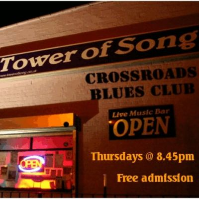 Crossroads Blues Club: SHADOW PLAY RORY + Open Mic | TOWER OF SONG LIVE MUSIC BAR BIRMINGHAM  | Thu 12th July 2012 Lineup