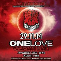 Exxposure 'One Love' Festival / Harry Shotta / Pied Piper / MC Creed / Stu Allan / Arun Verone / Nicky Blackmarket +++++