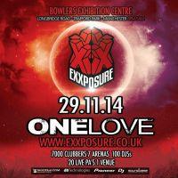 Exxposure 'One Love' Festival / Harry Shotta / Pied Piper / MC Creed / Stu Allan / Arun Verone / Nicky Blackmarket +++++