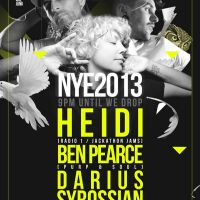 WEAREJUNK NYE 2013 feat. Heidi, Ben Pearce, Darius Syrossian + more