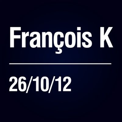 Content is 3... with Fran�ois K Tickets | Joshua Brooks Manchester  | Fri 26th October 2012 Lineup