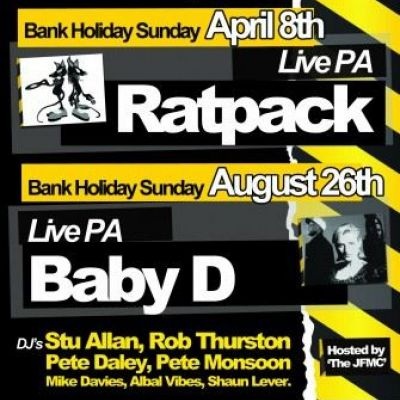 Baby D - LOST&FOUND Old Skool Events Tickets | NQ Live (Formerly Moho Live) Manchester  | Sun 26th August 2012 Lineup