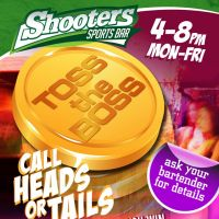 Toss the Boss at Shooters Sports Bar
