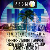 PRISM : HOT CREATIONS NYD : LEE FOSS / MIGUEL CAMPBELL / RICHY AHMED / RUSS YALLOP / DENNEY