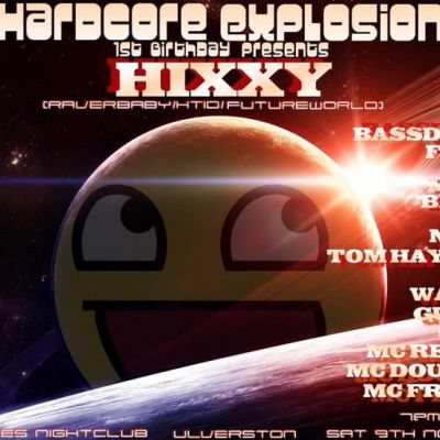 Hardcore Explosion 1st Birthday Bash Tickets | The Sun + Mackenzie's Ulverston  | Sat 9th November 2013 Lineup