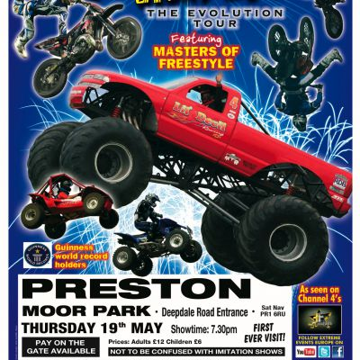 The Extreme Stunt Show | Moor Park Preston  | Thu 19th May 2011 Lineup