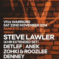 Sankeys present Viva Warriors (Part 2) 'Forest Rave'