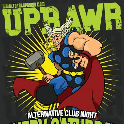 UPRAWR Birmingham | THE ASYLUM VENUE BIRMINGHAM  | Sat 2nd June 2012 Lineup