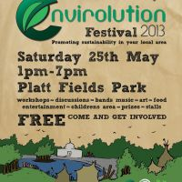 Envirolution Festival 2013 at Platt Fields Park