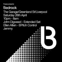 Freeze present Bedrock with John Digweed and Ellen Allien