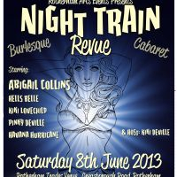 Night Train Revue - Burlesque & Cabaret at Rotherham Trades