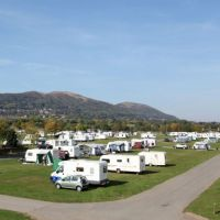 Malvern Caravan Show at Three Counties Showground