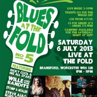 Blues at The Fold Festival 2013 at The Fold EcoCafe
