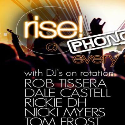 Rise | PHONO LEEDS Leeds  | Fri 27th July 2012 Lineup