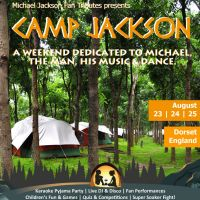 Camp Jackson - Michael Jackson Fan Camping Weekend at Partyfields