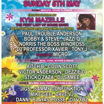 WE LOVE SOUL May Bank Holiday Special | Hidden - Vauxhall Vauxhall  | Sun 5th May 2013 Lineup