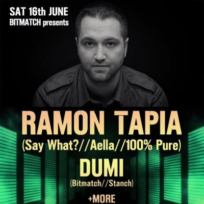 Bitmatch Presents Ramon Tapia @ Nomad  | NOMAD London  | Sat 16th June 2012 Lineup