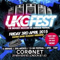 Ukg Fest - The Indoor UK Garage Festival 2015