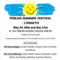 Penlan Summer Festival - Cenarth at Penlan Holiday Park