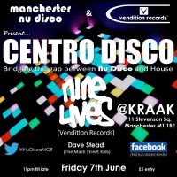 Centro Disco @KRAAK Manchester - Nu Disco Night!