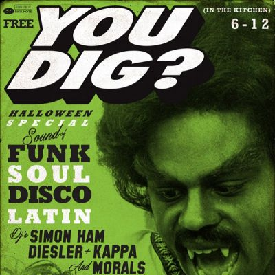 Halloween Special/funk-soul-latin-jazz-beats | Soup Kitchen Manchester