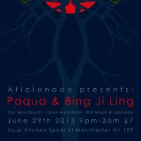 AFICIONADO feat. PAQUA, BING JI LING, PHIL MISON at Soup Kitchen
