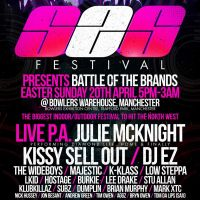 S2S Festival - DJ EZ, Julie McKnight, Kissy Sell Out, Wideboys, Majestic, Low Steppa, Stu Allan, K Klass, Hostage + more at Bowlers Exhibition Centre