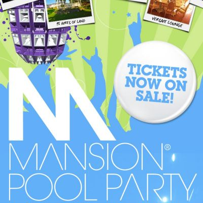 Mansion Pool Party 2012 Tickets | Butterley Grange Mansion Butterley  | Sat 14th July 2012 Lineup