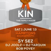 Solfuel presents........Kin The Family House. at Hamptons