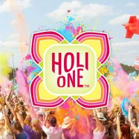 Edinburgh HOLI ONE Colour Festival at Gypsy Brae Recreational Park