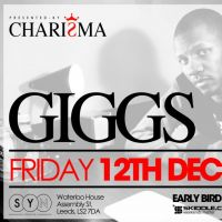 GIGGS [Performing LIVE] at SYN Nightclub (Leeds) 12/12/14