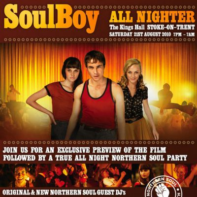 SoulBoy Northern Soul All-Nighter Tickets | Kings Hall Stoke Staffordshire  | Sat 21st August 2010 Lineup